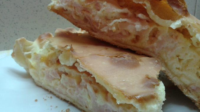 Tarta Soufflé De Jamón Y Queso