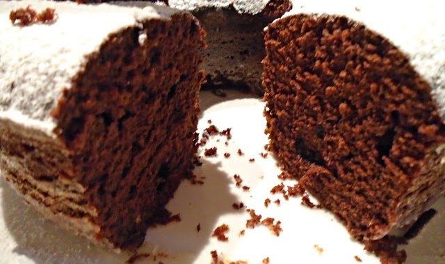 Bizcochuelo De Chocolate Al Microondas 8 Minutos Y Sin Batidora